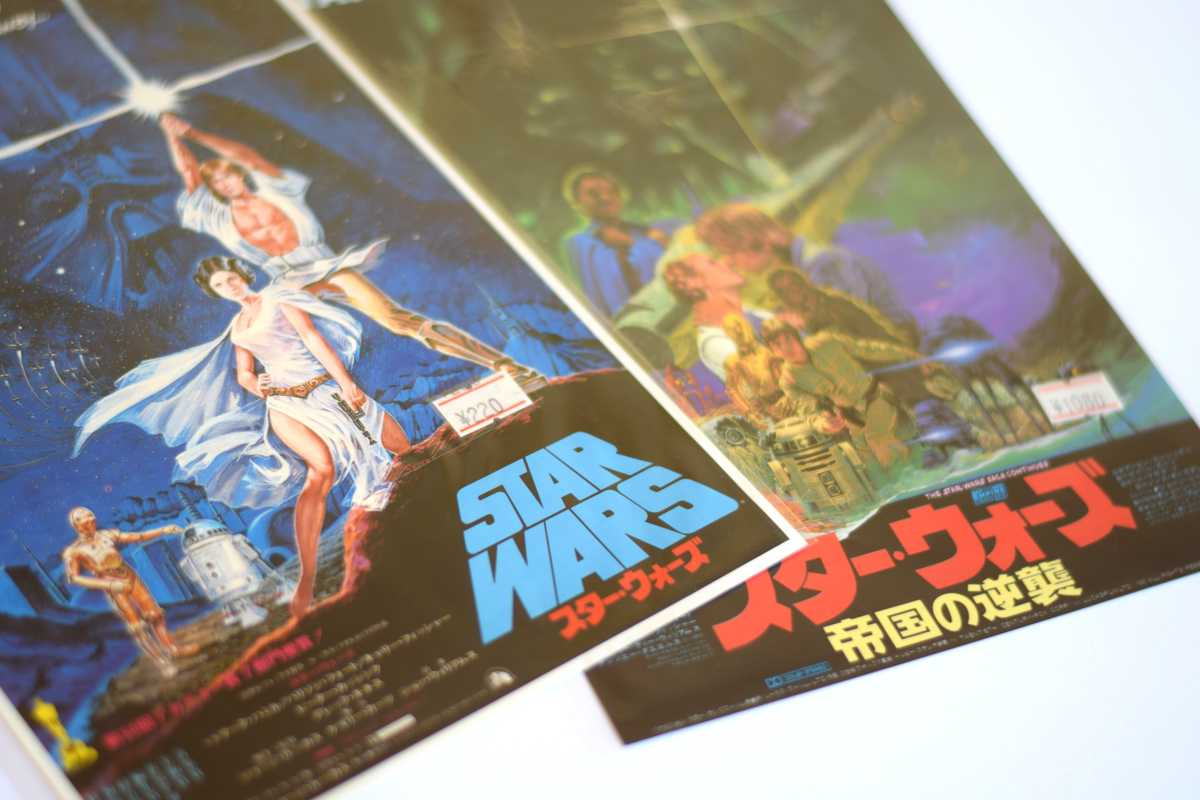 Star Wars Japanese Posters